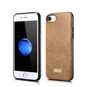 Genuine Leather Back Cover Phone Case for iPhone 7 pictures & photos