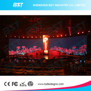 P3.91mm Commercial Rental LED Display Video Wall Screen with H 140 Degree View Angle pictures & photos
