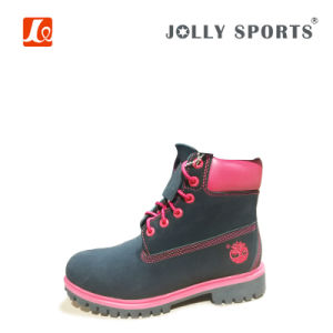 Leather Casual Boots Safety Boots for Women pictures & photos