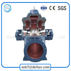 Large Volume Double Suction Diesel Engine Centrifugal Drainage Pump pictures & photos