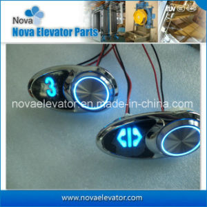 Elevator Push Button Flat Surface Panel pictures & photos