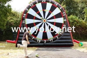 Inflatable Velcro Soccer Football Darts with Balls pictures & photos