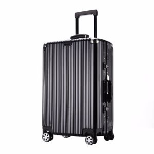 "Magllu Lite Cube 20"" Aluminum Carry on Luggage 4-Wheeled pictures & photos"