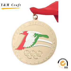 Customized Round Shape Metal Medal (Q09731) pictures & photos