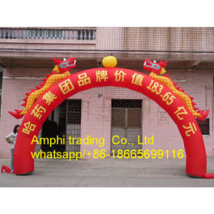 Attractive Advertising Inflatable Arch Blue Inflatable Archway pictures & photos