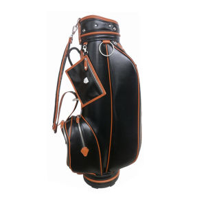 Genuine Leather Golf Bag pictures & photos