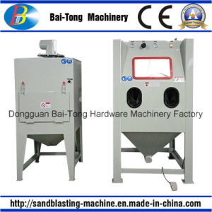 Manual Dry Sandblasting Sandblaster Stone Carving Machine pictures & photos