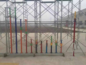 High Durability Adjustable Scaffolding Steel Shoring Props Used for Construction pictures & photos