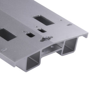 Aluminium/Aluminum Profile for Part with Clear Anodized (ZY-1-6-2) pictures & photos