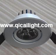 12X1w White Shell LED Downlight pictures & photos