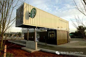 Flexible Well Designed Portable Mobile Prefabricated/Prefab Coffee House pictures & photos