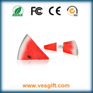 Watermelon Shape PVC USB Flash Drive 1GB 2GB 4GB pictures & photos