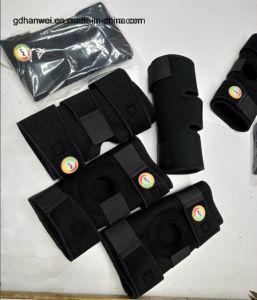 2017 Adjustable Open Pattela Velcro Knee Support/Knee Brace pictures & photos