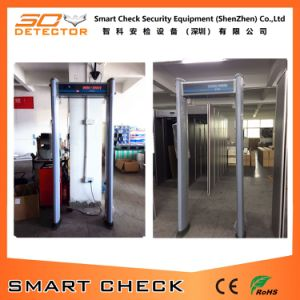 6 Zone Cylindrical Metal Detector Gate Archway Metal Detector Gate pictures & photos