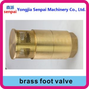 Bottom Valve Foot Valve NPT/BSPT 1 1/2 pictures & photos