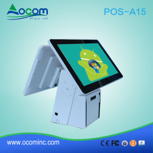 POS-A15 15 Inch POS System with Touch Screen for Store pictures & photos