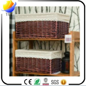 2017 Best Sale and High Quality Hand Knitting Wicker Basket and Storage Box and Bamboo Basket in The World pictures & photos
