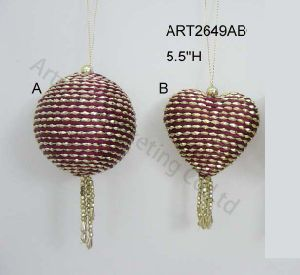 Christmas Tree Decoration Ornament-2asst pictures & photos