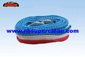 Super Strong 5000kg Loading Weight Car Auto Heavy Duty Tow Rope Trailer Rope pictures & photos