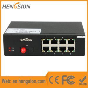 8 Tx and 1 Fx Megabit Port Ethernet Network Switch pictures & photos