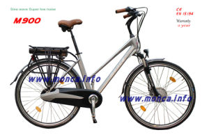M900 Sine Wave Super Low Noise Ce En15194 Certified Electric Bike City Ebicycle Warranty 2 Years pictures & photos