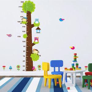 Nursery Kids Growth Chart Monkey Jungle Height Chart Wall Decal Decor Sticker Wallpaper pictures & photos