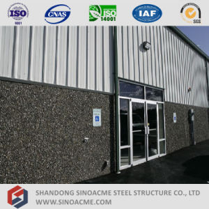 Prefabricated Structural Steel Building with Office pictures & photos