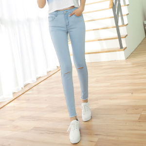 New Design Lady Jeans New Look Woman Jeans pictures & photos