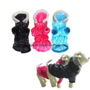 Warm Pet Dog Waterproof Clothes Apparel Hoodie Hooded Coat pictures & photos