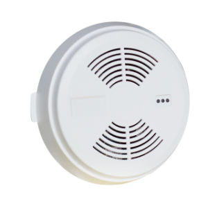 Independent GSM Smoke Detector with 2 Ways Power Supply pictures & photos