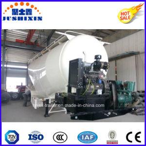 3 Axles Bulk Cement Powder Tank Trailer for Sale pictures & photos