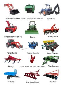 Disc Ridging Plough of Tractor Tools and Tractor Implement pictures & photos