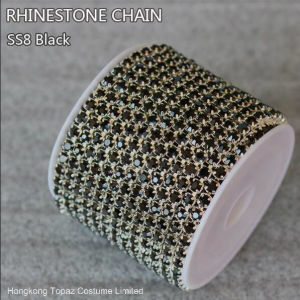 Mc Chaton Cup Chain Rhinestone Jewelry Cup Chain (TCS-SS12 crystal) pictures & photos