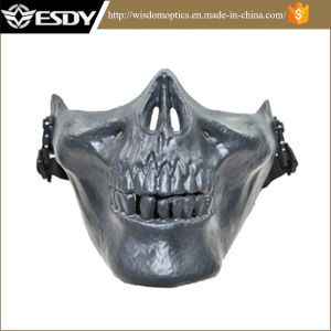 Tactical Airsoft Paintball Half Face Protect Army Skull Mask pictures & photos