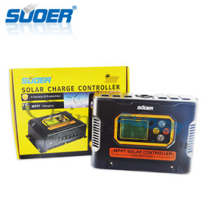 Suoer 12V 40A Solar Power Controller MPPT Solar Charge Controller (SON-MPPT-40A) pictures & photos