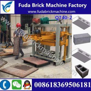 Advanced Small Qt40-2 Manual Habiterra Block Machine/Concrete Solid Brick Machine pictures & photos