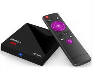 2017 Best Design Pendoo Mini Rk3328 1g 8g Android 7.1 Marshmallow TV Box pictures & photos