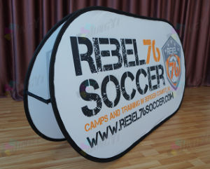 Custom Outdoor Portable Horizontal A-Frame Display Sports Pop up Banner pictures & photos