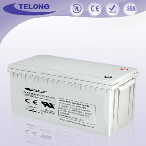 12V200ah Storage Power Battery; UPS Cps EPS Eco Deep-Cycle AGM Battery pictures & photos