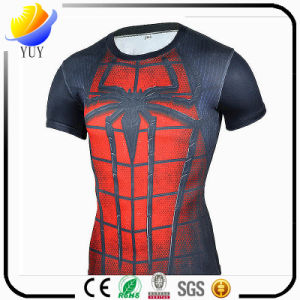 Marvel Outdoor Breathable Wicking Sport Fitness T-Shirt pictures & photos