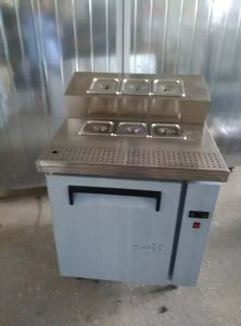 Cheering New Style Stainless Steel Pizza Table pictures & photos