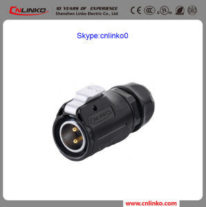Made in China IP 65 Wire Harness Connector 2 Pin Male Gender Plug for Power Equipment pictures & photos