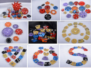 Redi-Lock Floor Grinding Plates for Husqvarna Pg400 450 820 D04 pictures & photos