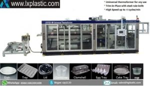 Chinese Automatic Cheap Plastic Thermo Forming Machine pictures & photos
