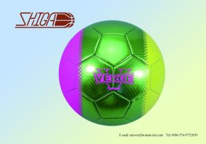 2017 New Machine Stitched Size 5 Colour PVC Soccer Ball pictures & photos