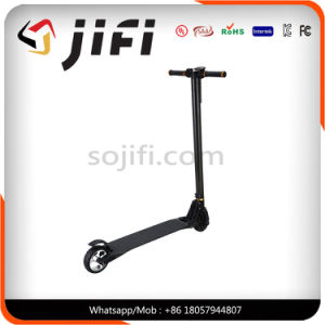 2017 New Design Carbon Fiber Cool Kick Scooter Electric Balancing Scooter pictures & photos