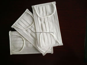 Ultrasonic Disposable Medical Face Mask Blank/Outside/Inside/Tie on Automatic Machine pictures & photos