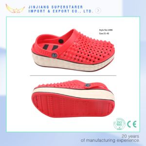 EVA Women Clogs Sandals, Height Increasing Shoes with Breathable Upper Design pictures & photos