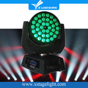 Hot Sell 36*18W Rgbwap 6in1wash Zoom Stage Lighting Moving Head pictures & photos