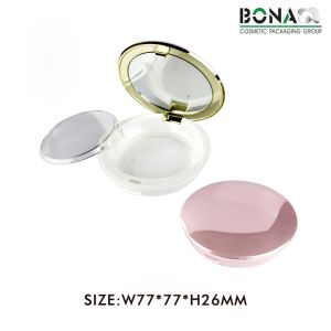 Custom Design Plastic Empty Powder Compact pictures & photos